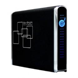 """Externí box eSATA/USB 2.0 na 2,5"""" SATA HDD, Al provedení"""