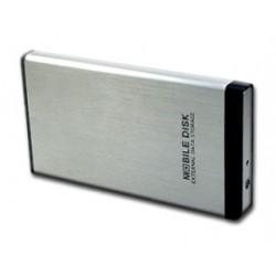 """Externí box USB 2.0 na 2,5"""" SATA HDD, Al provedení"""