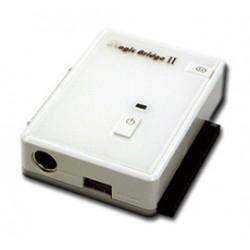 """Adaptér USB 2.0 na 2,5""""/3,5"""" SATA/eSATA/IDE HDD (adapter+zdroj)"""