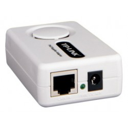 PoE injector aktivní TL-PoE150S se zdrojem 48V (15,4W), IEEE802.3af