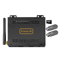 MiniPC FrameXX Win, Windows 10 (Intel Atom QC, 2GB DDR3, 32GB SSD, HDMI, WiFi, BT 4.0, LAN