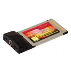 FireWire CardBus 800Mbps SDM (2x FW1394b, 1x FW1394a), TI