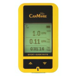 "GPS Sport tracker (datalogger) Canmore GP-101, 1,8"" LCD, žlutá barva"
