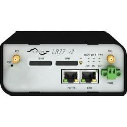 Conel LR77v2 WiFi Libratum 100Mbps LTE router, 2x SIM, 2x LAN,  Industrial