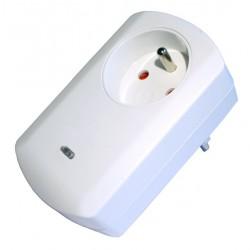 Bezdrátová zásuvka se stmíváním TKB, 300W, Z-Wave
