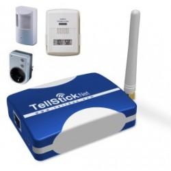 LAN automatizační modul Tellstick NET, obousměr. komunikace(bezdrát.ovládání zásuvek, příjem), 433MHz
