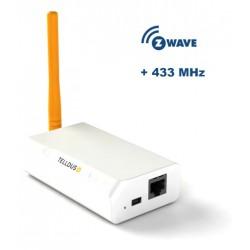 Tellstick ZNet Lite gateway, 433MHz + Z-wave, RJ45
