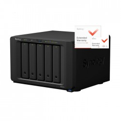 NAS Synology DS1517+ 8GB RAID 5xSATA server, 4xGb LAN, rozšířená záruka 5 let