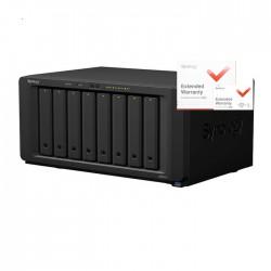 NAS Synology DS1817+ 8GB RAID 8xSATA server, 4xGb LAN, rozšířená záruka 5 let