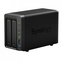 NAS Synology DS718+ 2xSATA server, 2x Gb LAN