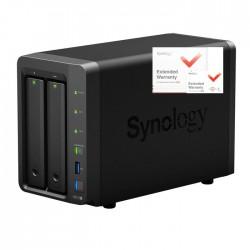 NAS Synology DS718+ 2xSATA server, 2x Gb LAN, rozšířená záruka na 5 let