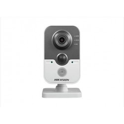 Hikvision IP cube kamera DS-2CD2422FWD-IW, 2MP, 10m IR, PIR, obj. 4mm, microSD,WiFi, DC12V