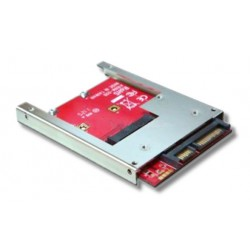 "SSD mSATA / 9,5mm 2,5"" SATA adapter ST-168ML"