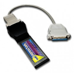 Parallel card Chronos ExpressCard 1xPP, DB25 (PCIe based)