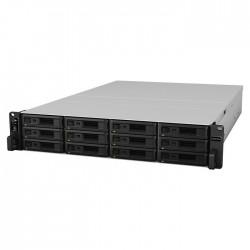 NAS Synology RS3621RPxs RAID 12xSATA Rack server, 4xGb LAN, redund.zdroj