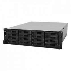 NAS Synology RS4021xs+,3U,16xSATA Rack server,2x10Gb + 4x1Gb LAN, red.zdroj