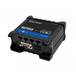 Teltonika 150Mbps LTE router, 2xSIM, WiFi, 3xLAN + 1xLAN/WAN 100Mbps, GPS, USB, RS232, IO