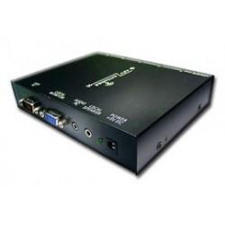 AV VGA extender - vysílač až pro 5 přijímačů, Ethernet Cat5/6, do 150m