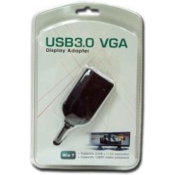 Videoadaptér USB 3.0/2.0 -> VGA (do 2048 x 1152)