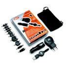Napájecí set Celly Unipower (AC adapter + autoadapter s USB výstupem, 10 konektorů)