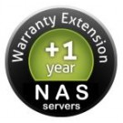 NAS Synology DS218play, prodloužení záruky +1rok