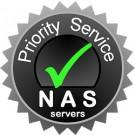 NAS Synology 4 bay (DS4xx), prioritní servis, 1rok