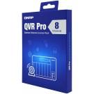 QNAP kamerová licence pro přidání 8 kamer do systému QVR Pro, elektronická licence